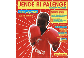 VARIOUS - Jende Ri Palenge - People Of Palenque - (CD + DVD Video)