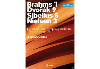 Danish National Symphony Orchestra - 4 Sinfonien - (DVD)