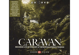 Caravan - Live At Metropolis Studios 2010 - (CD + DVD Video)
