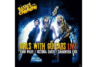 Dani Wilde, Victoria Smith, Samantha Fish - Girls With Guitars - Live - (CD + DVD Video)