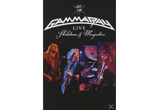 Gamma Ray - Skeletons & Majesties - Live - (DVD)