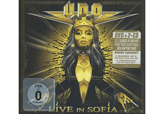 Udo - LIVE IN SOFIA (+2CD/DIGIPAK) [CD + DVD]