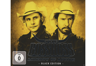 The BossHoss - LIBERTY OF ACTION (BLACK EDITION) (DELUXE EDT.) - (CD + DVD Video)
