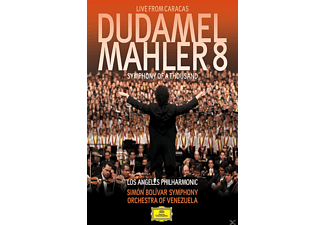 VARIOUS, Simon Bolivar Symphony Orchestra Of Venezuela, Los Angeles Philharmonic Orchestra - Mahler 8 (Symphony Of A Thousand) - Live From Caracas - (Blu-ray)