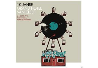VARIOUS - 10 JAHRE GRAND HOTEL VAN CLEEF-LIVE 26.08.2012 - (CD + DVD Video)