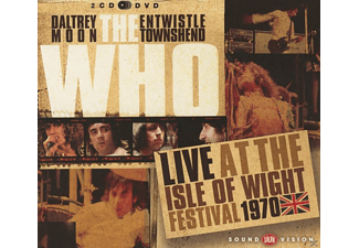 The Who - Live At The Isle Of Wight 1970 (2cd+Dvd) - (CD)