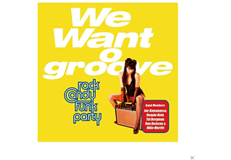 Rock Candy Funk Party - We Want Groove - (CD + DVD Video)