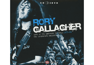 Rory Gallagher - Live At Montreux 1975-94 - (CD + DVD)