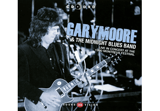 Gary Moore, The Midnight Blues Band, Albert Colins - Live At Montreux 1990 (Cd+Dvd) - (CD + DVD)