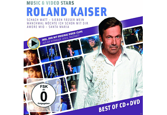 Roland Kaiser - Music & Video Stars - (CD + DVD)