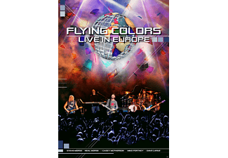 Flying Colors - Fyling Colors - Live In Europe - (DVD)