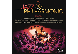 VARIOUS - Jazz and the Philharmonic - (CD + DVD)