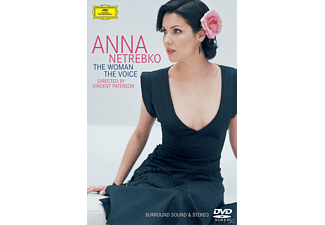 Anna Netrebko - THE WOMAN-THE VOICE - (DVD)