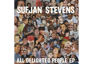 Sufjan Stevens - All Delighted People - (CD)
