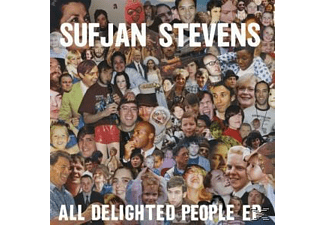 Sufjan Stevens - All Delighted People EP - (LP + Download)