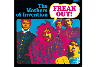 Frank Zappa, The Mothers Of Invention - Freak Out! - (CD)