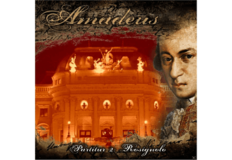 Amadeus - Partitur 02: Rosignolo - 1 CD - Horror