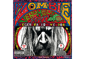 Rob Zombie VENEMOUS RAT REGENERATION VENDOR Heavy Metal CD