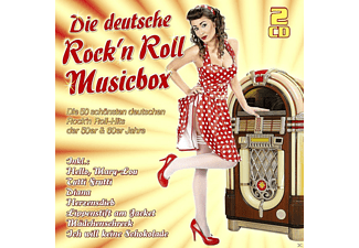 VARIOUS - Die Deutsche Rock'n Roll Musicbox - (CD)