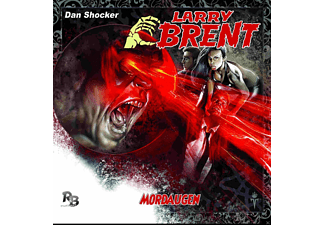 Larry Brent 10: Mordaugen - 1 CD - Horror