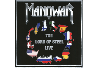 Manowar - The Lord Of Steel-Live - (CD)