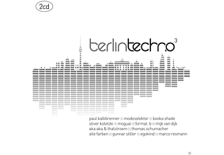 VARIOUS - Berlin Techno 3 - (CD)