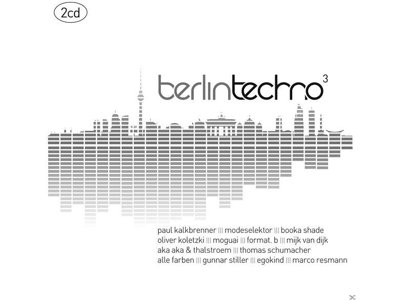 VARIOUS - Berlin Techno 3 [CD]