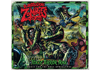 Bloodsucking Zombies From Outer Space - Toxic Terror Trax - (CD)