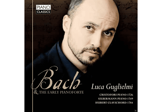 Luca Guglielmi - Bach And The Early Pianoforte - (CD)