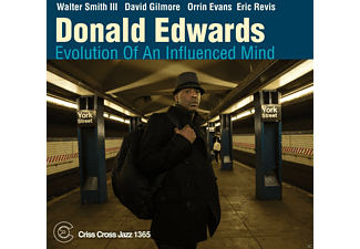 Donald Edwards - Evolution Of An Influenced Mind - (CD)