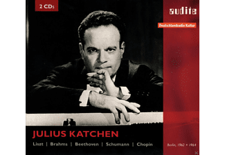 Julius Katchen - Katchen Plays Liszt, Brahms, Beethoven, Schumann/ + - (CD)
