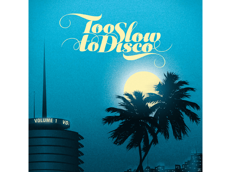 VARIOUS - Too Slow To Disco [CD]