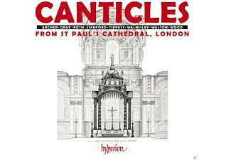 Simon Johnson, St Paul's Cathedral Choir - Canticles From St.Paul's Cathedral - (CD)