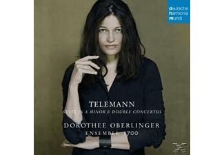Dorothee/ensemble 1700 Oberlinger - Doppelkonzerte/Suite In A Moll - (CD)