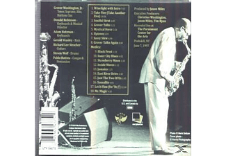 Grover Jr. Washington - Grover Live - (CD)