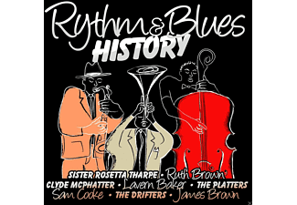 VARIOUS - Rhythm & Blues History - (CD)