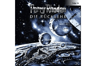 Perry Rhodan 36: Die Rückkehr - 1 CD - Science Fiction/Fantasy