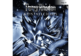 Perry Rhodan 35: Kristallchaos - 1 CD - Science Fiction/Fantasy