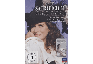 Cecilia Bartoli, Il Giardino Armonico - Sacrificium - The Art Of The Castrati - (DVD)