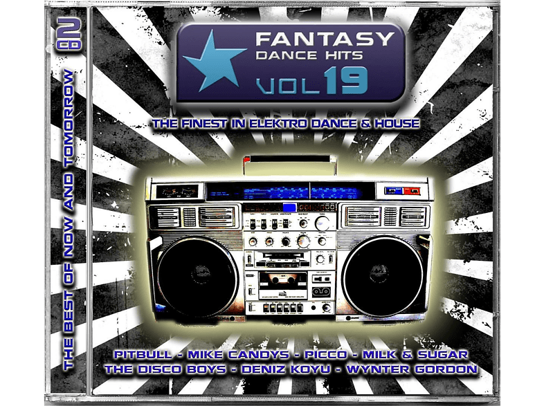 VARIOUS - Fantasy Dance Hits Vol.19 [CD]