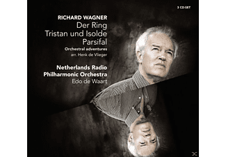 Netherlands Radio Philharmonic Orchestra - Richard Wagner: Der Ring, Tristan und Isolde, Parsifal - (CD)