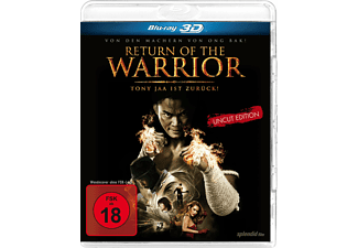 Return Of The Warrior - (3D Blu-ray)