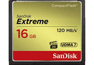 SANDISK Compactflash extreme 16GB (123850)