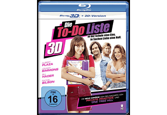 Die To-Do Liste - (3D Blu-ray)