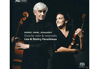 Liza & Dmitry Ferschtman - Duos For Violin & Violoncello - (SACD Hybrid)