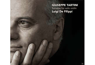 Luigi De Filippi - Sonatas For Solo Violin - (CD)