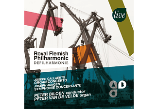 Peter Van De Velde, Royal Flemish Philharmonic - Works For Organ And Orchestra - (CD)