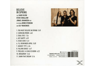 JOHANSEN FT.STENSON, Ulrik/Swallow/Johansen Ft.Stenson/Wakenius - Believe In Spring - (CD)