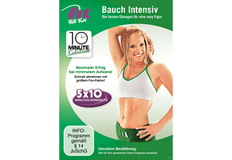 Fit For Fun - 10 Minute Solution: Bauch Intensiv - (DVD)