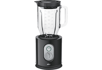 BRAUN JB 5160 IdentityCollection, Standmixer, 1000 Watt, Schwarz